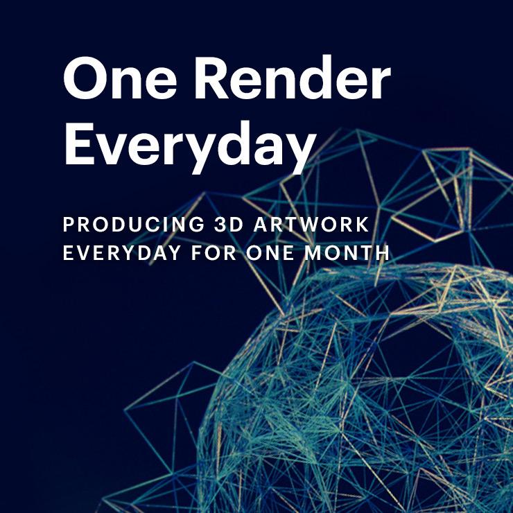 One Render Everyday