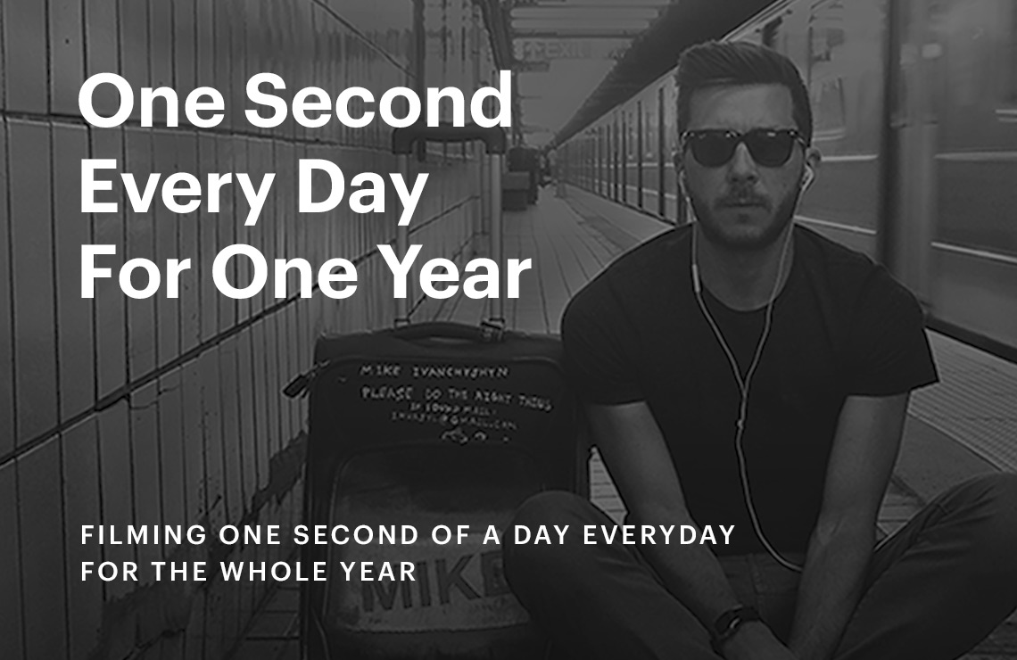 One Second. One Day. One Year.