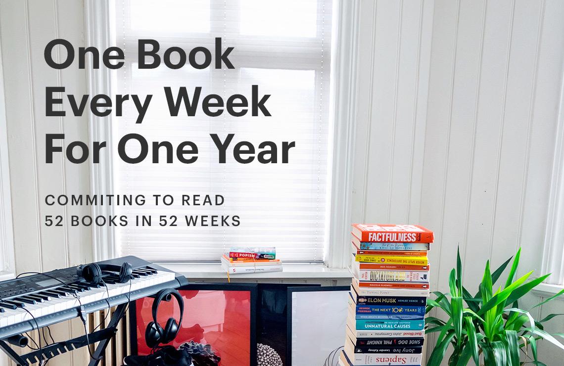One Book. One Week. One Year.